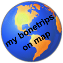 my bonetrips      on map